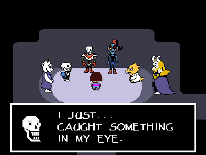 Undertale - 21505035 - Pacifist - New Home - Dialog.png